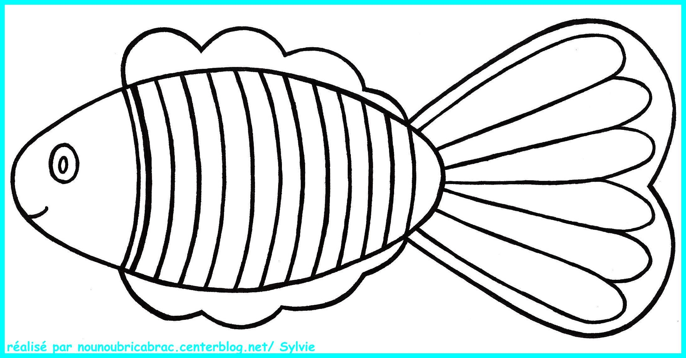 Poisson a colorier - Poisson dessin ...