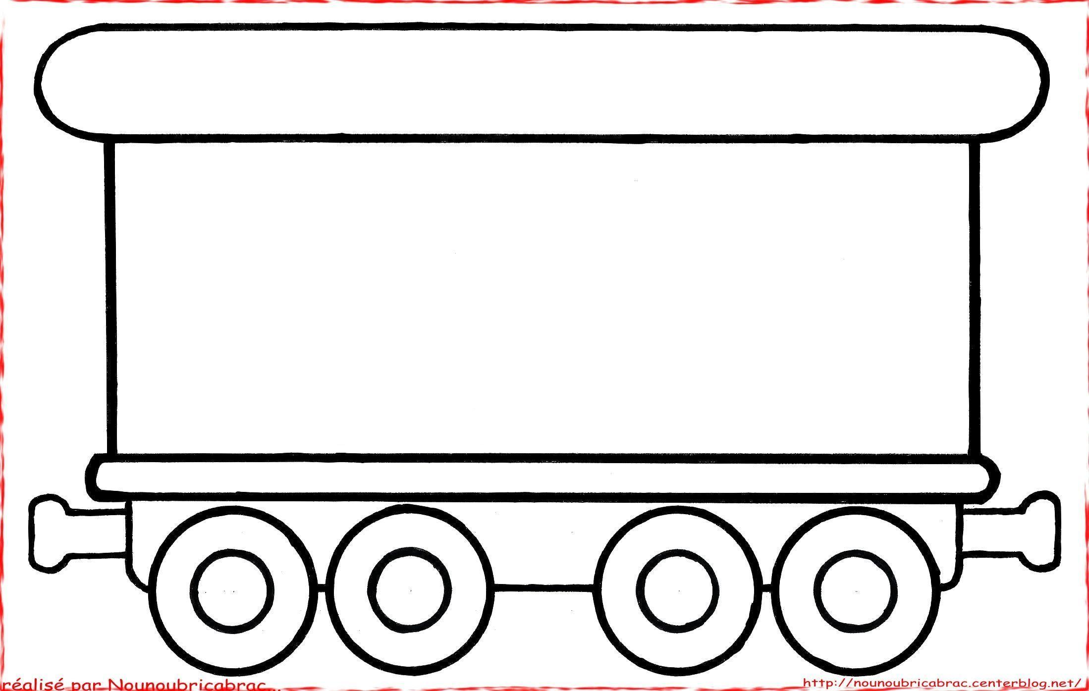 Coloriages transports - Locomotive dessin ...
