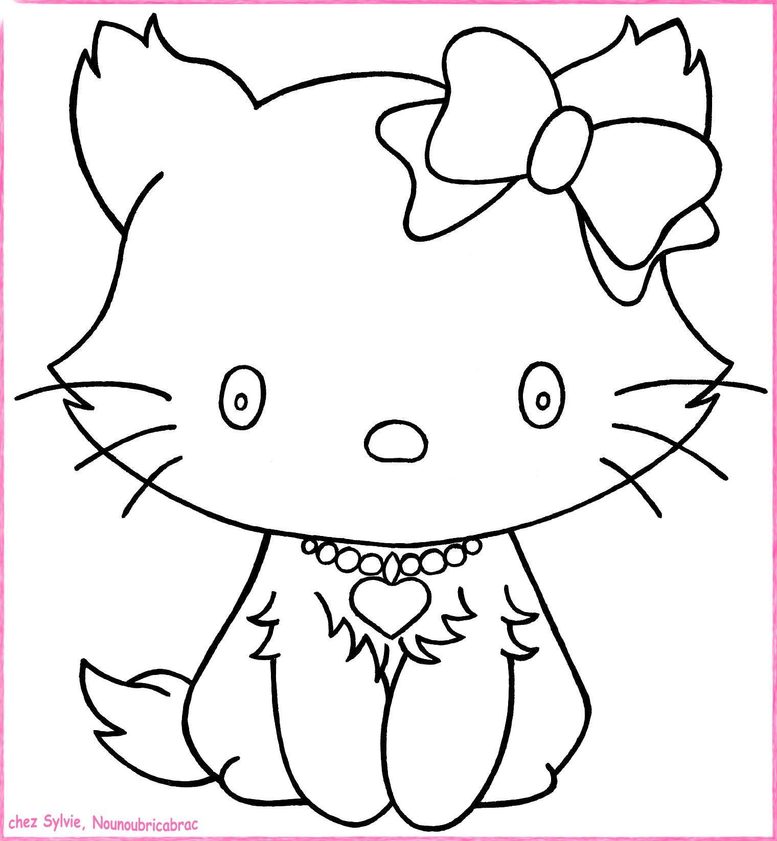Chats a imprimer - Dessin a imprimer chat ...